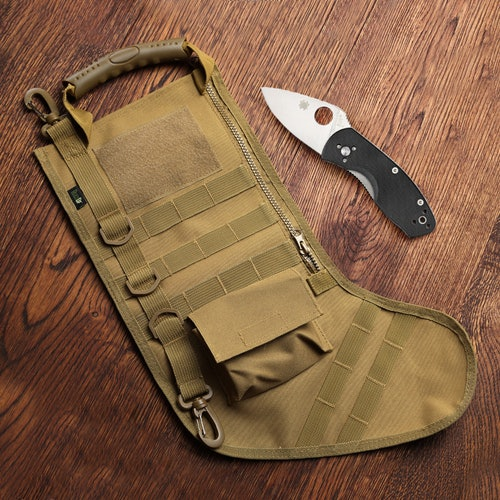 Tactical Christmas Stocking Stuffed.Stuffed Stocking Spyderco Ambitious Price Reviews Drop