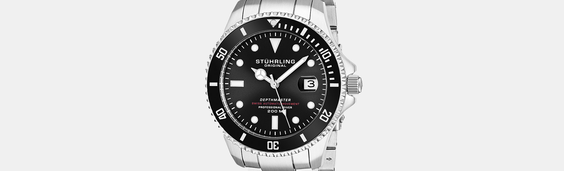 Stuhrling Depthmaster 883 Automatic Watch