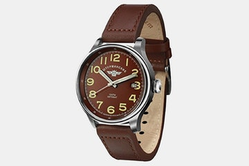 2416/2345336 (brown dial, brown leather strap)