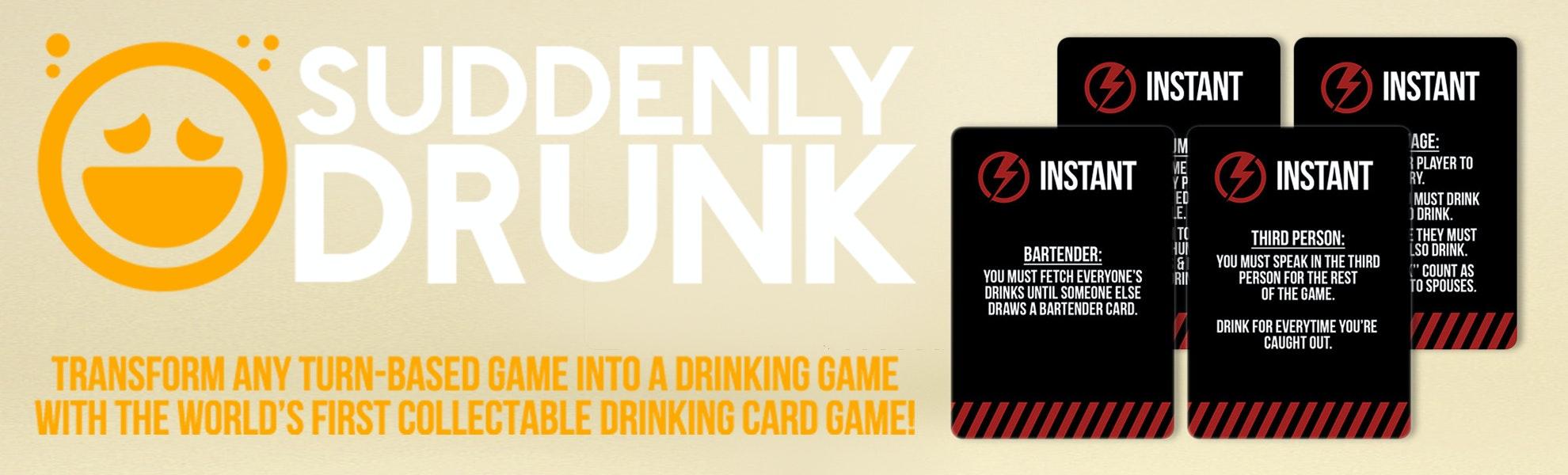 Suddenly Drunk: Base Game & Expansions Bundle
