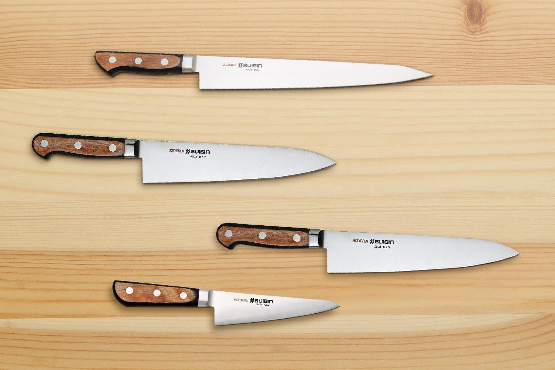 Suisin Inox Western Kitchen Knives