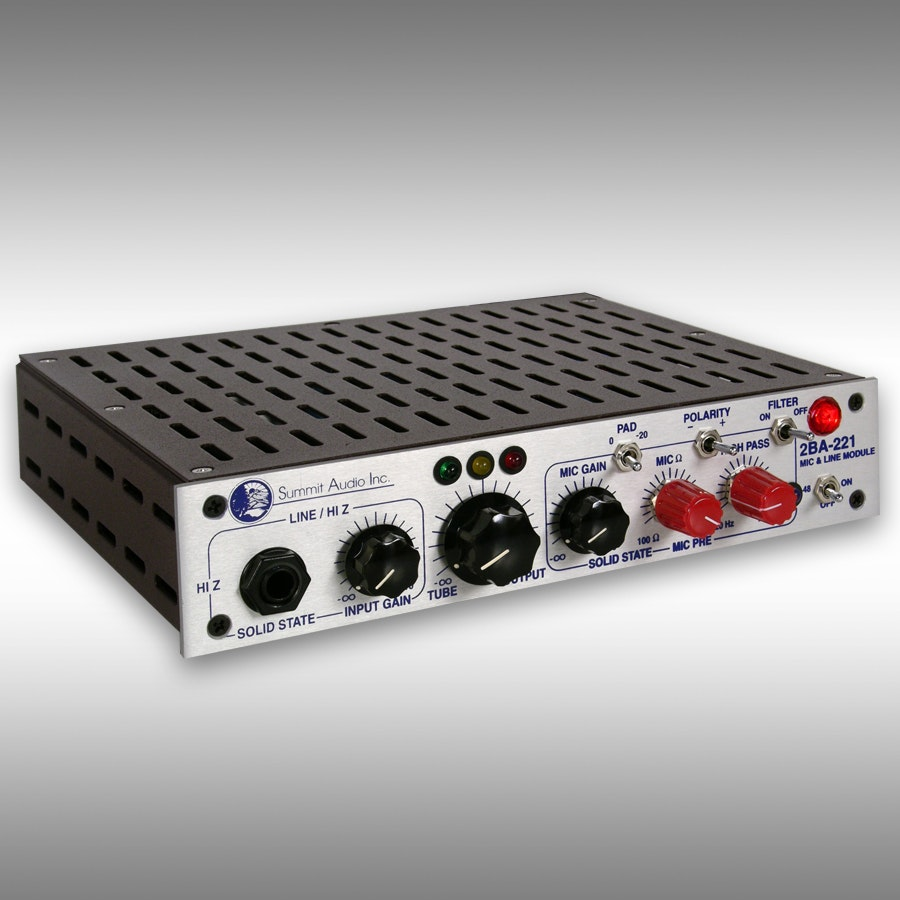 Summit Audio 2BA-221 Microphone Preamp