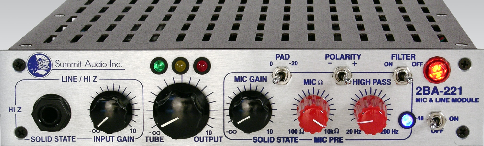 Summit Audio 2BA-221 Microphone Preamp