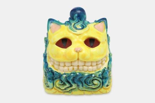 SUN Evil Cat Resin Artisan Keycap