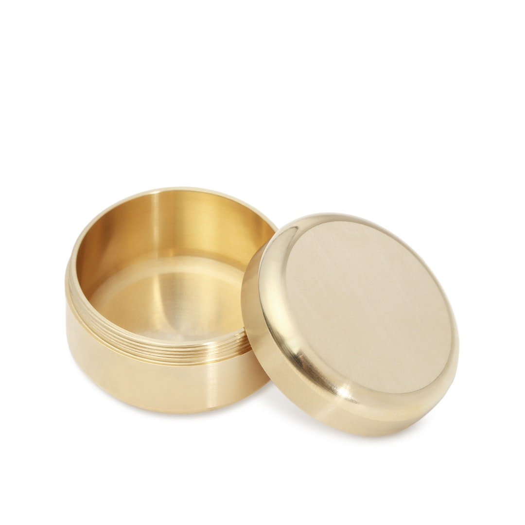 Sunshine Products Brass Pill Box