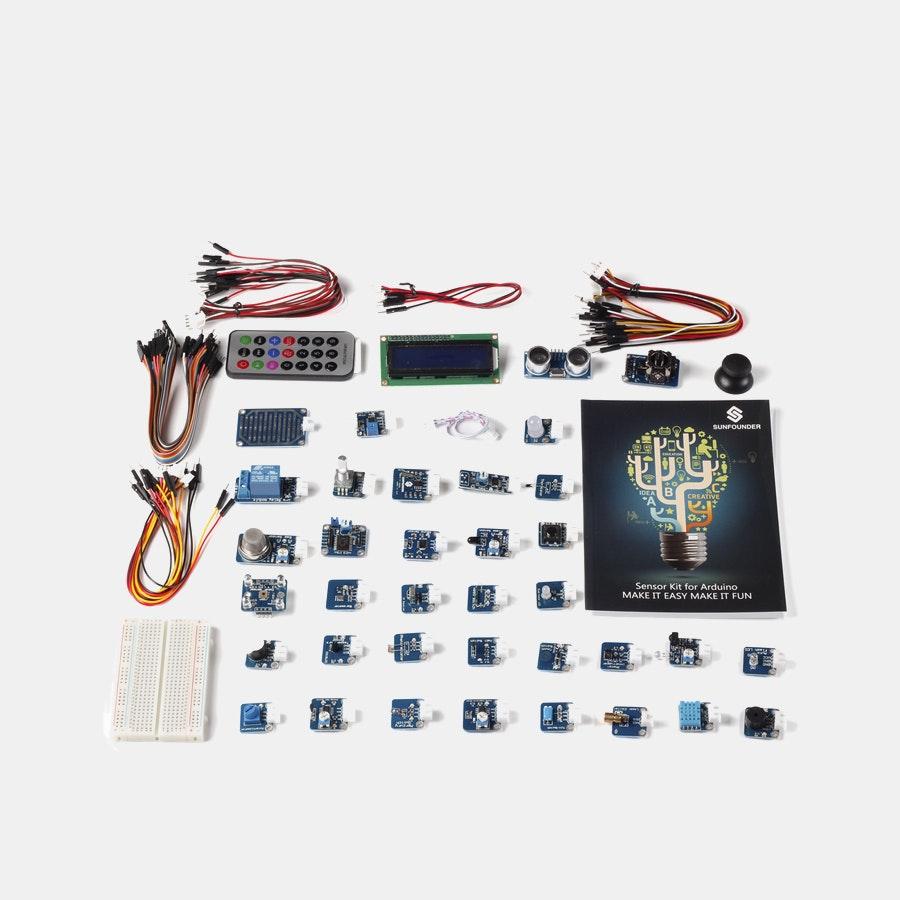 SunFounder 37 Module Sensor Kit V2 for Arduino
