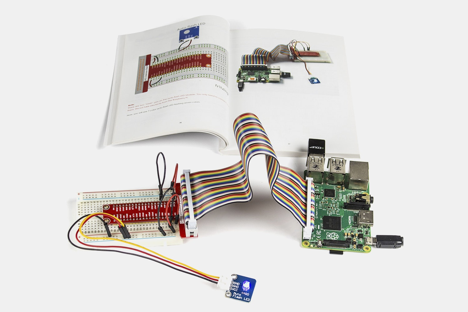 SunFounder 37-Module Sensor Kit V2 for Raspberry Pi