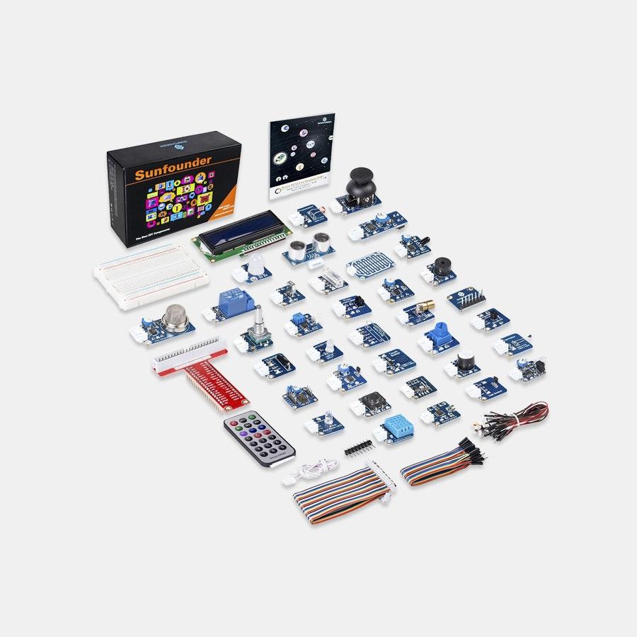 SunFounder 37-Module Sensor Kit V2 for Raspberry Pi