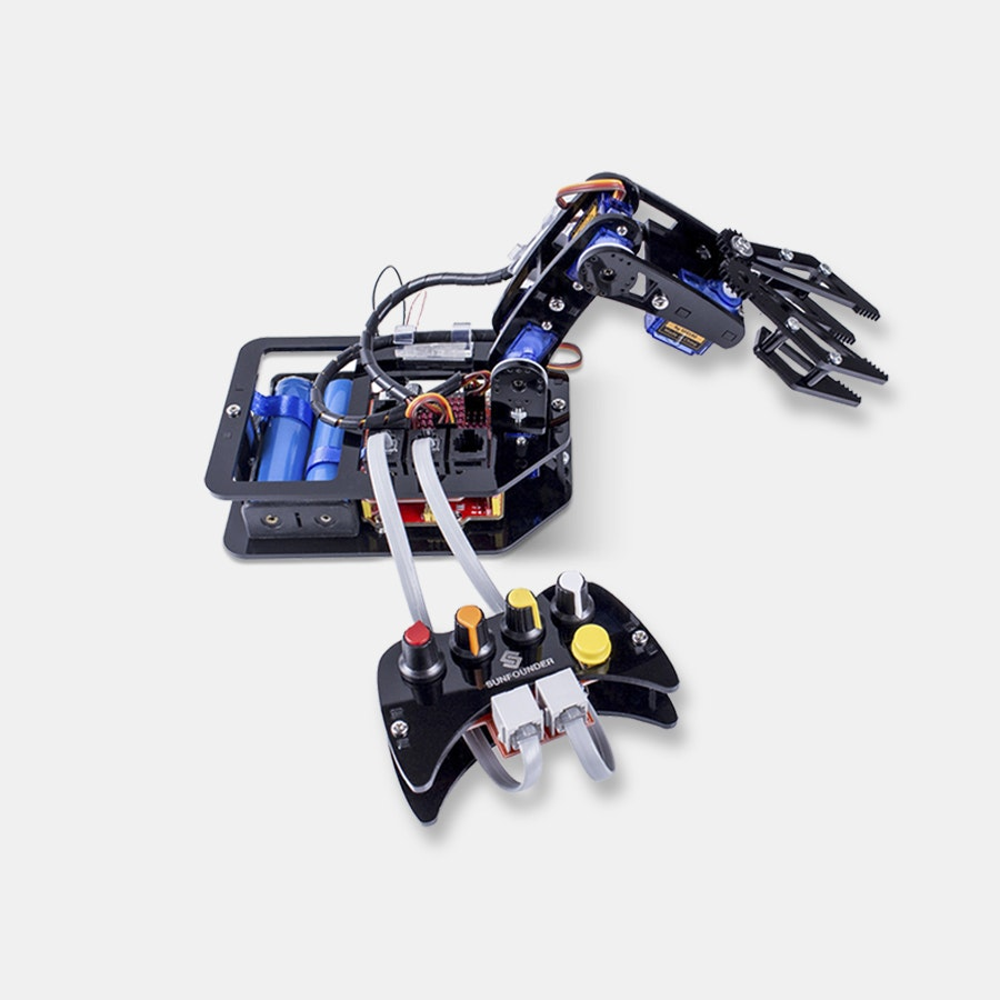 SunFounder 4-Axis Robotic Arm Kit for Arduino