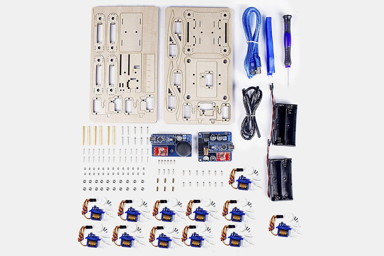 SunFounder Crawling Quadruped Robot Kit for Arduino