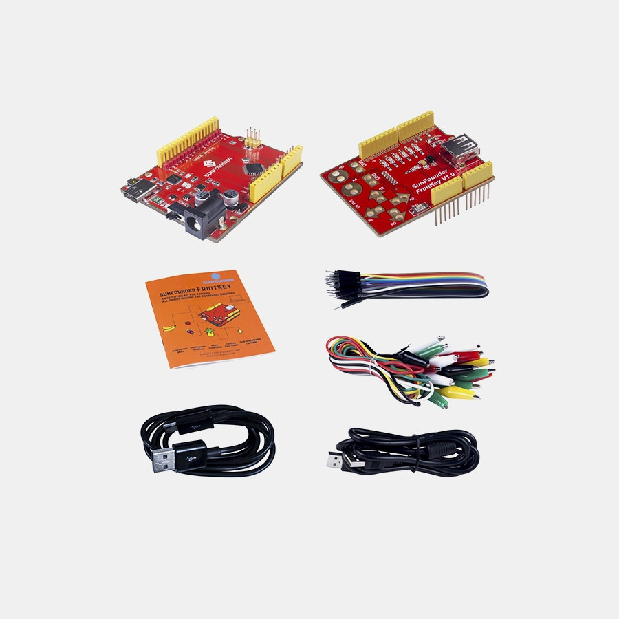 SunFounder FruitKey USB Keyboard DIY Starter Kit