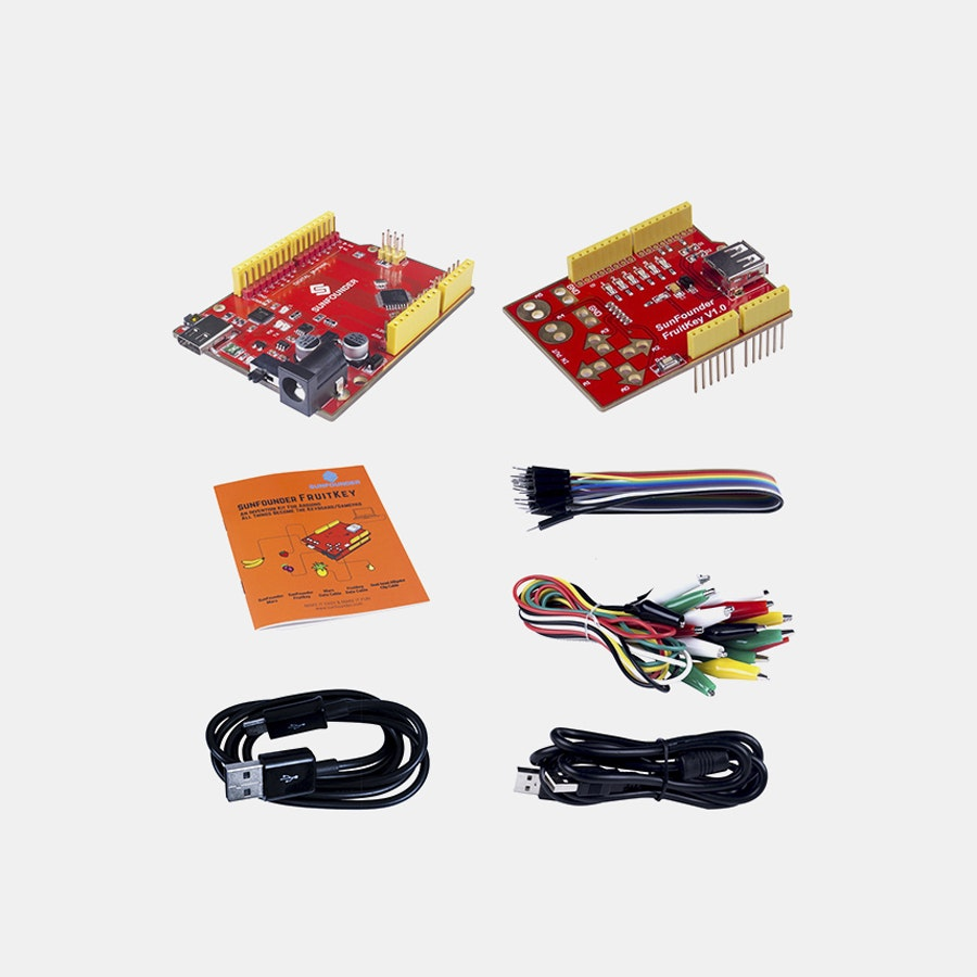 SunFounder FruitKey USB Keyboard DIY Starter Kit