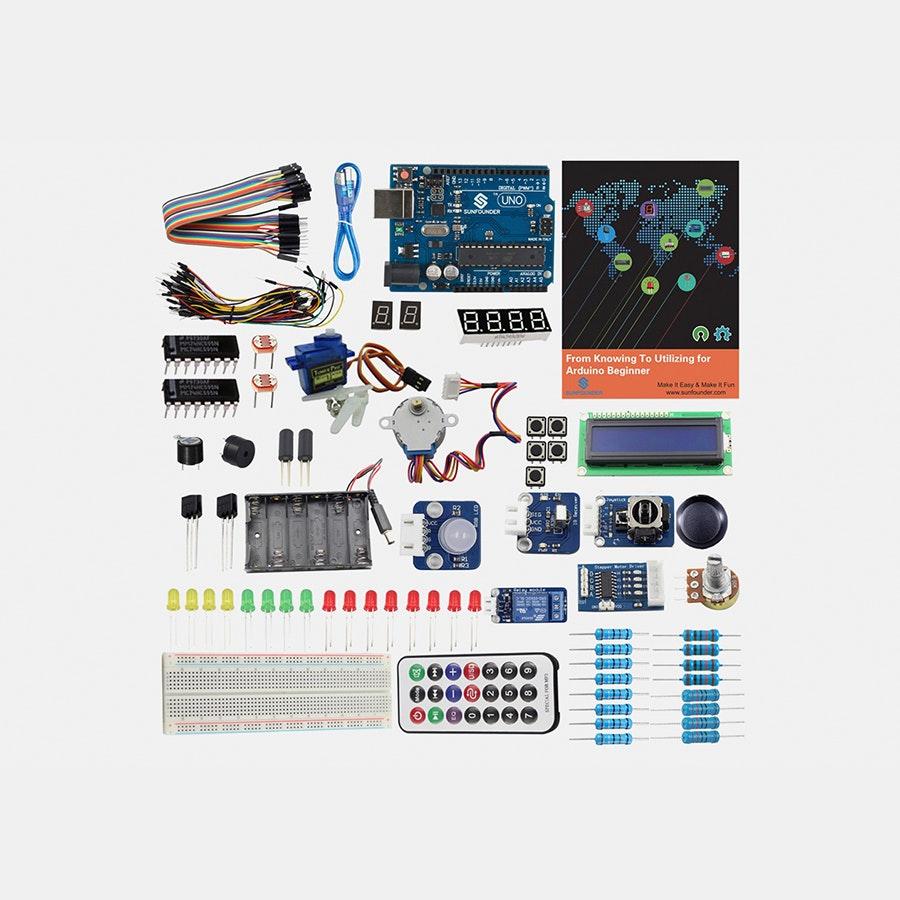 SunFounder Learning Kit V2 for Arduino Beginner