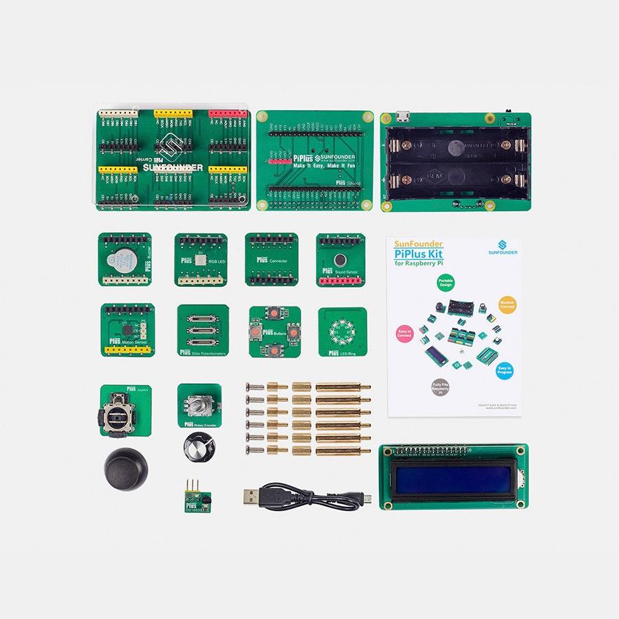 SunFounder PiPlus STEM Kit for Raspberry Pi