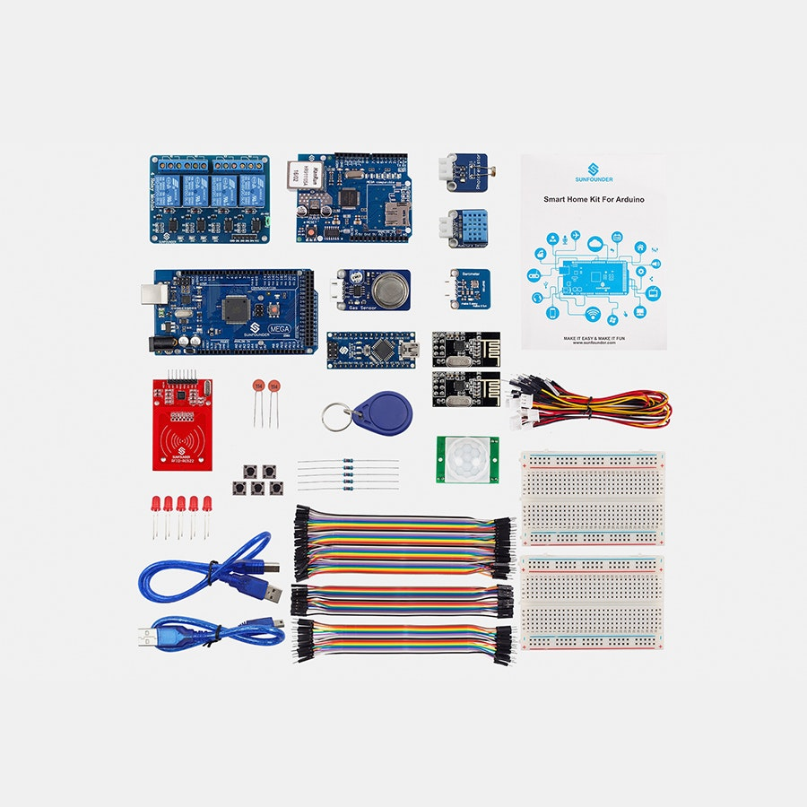 SunFounder Smart Home IoT Kit V2.0 for Arduino