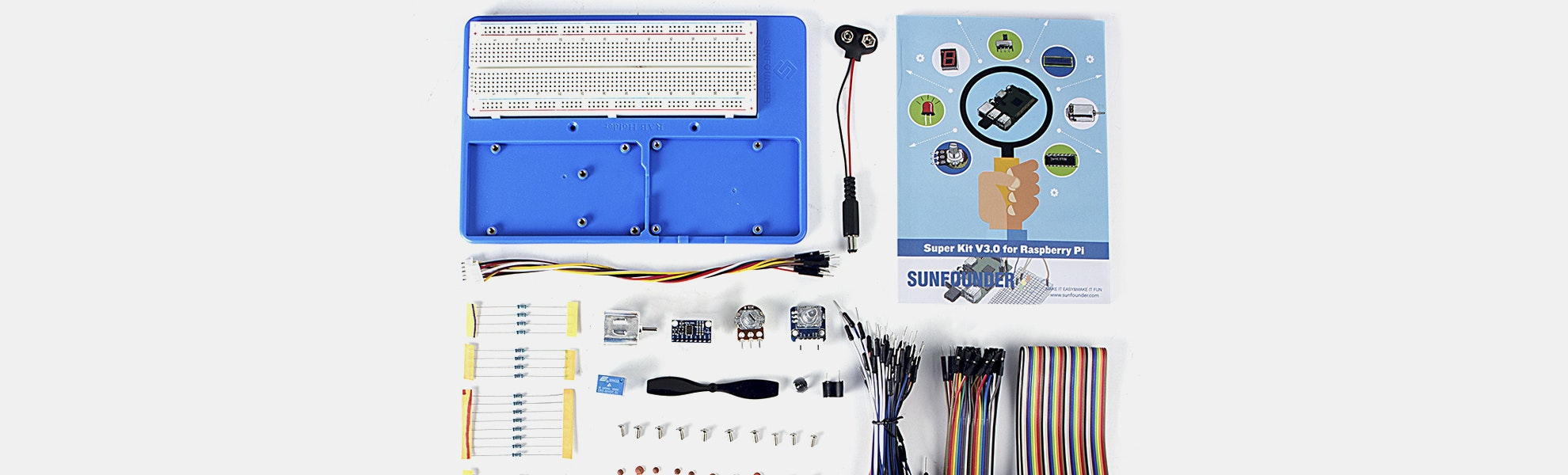 SunFounder Starter Learning Kit V3 for Raspberry Pi