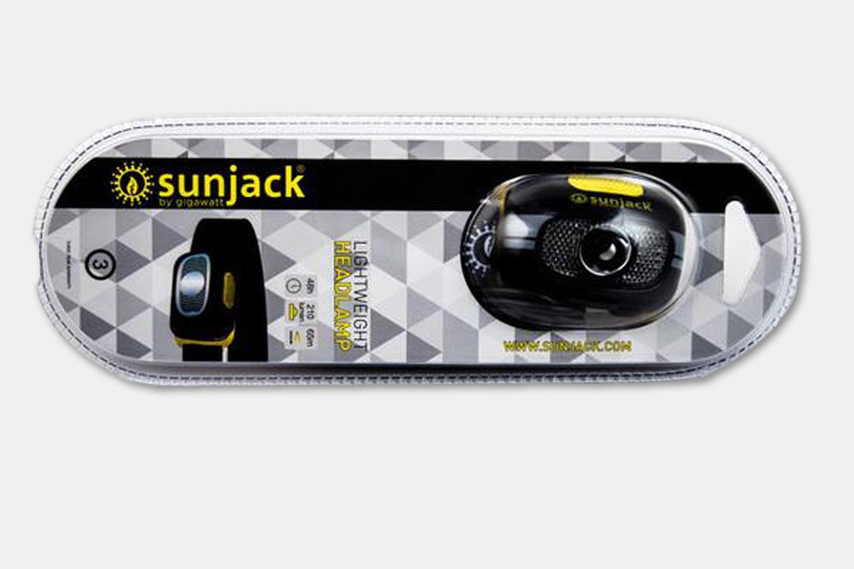 SunJack USB-Rechargeable Headlamp