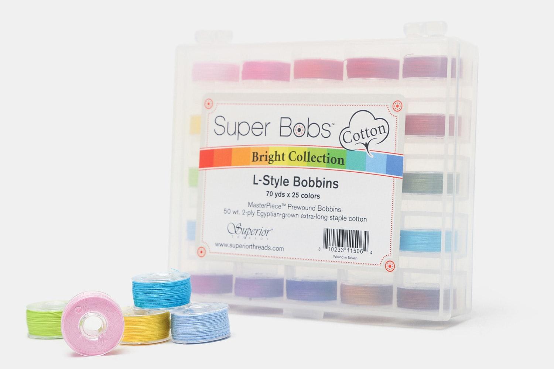 Super Bobs Cotton Prewound Bobbin Set
