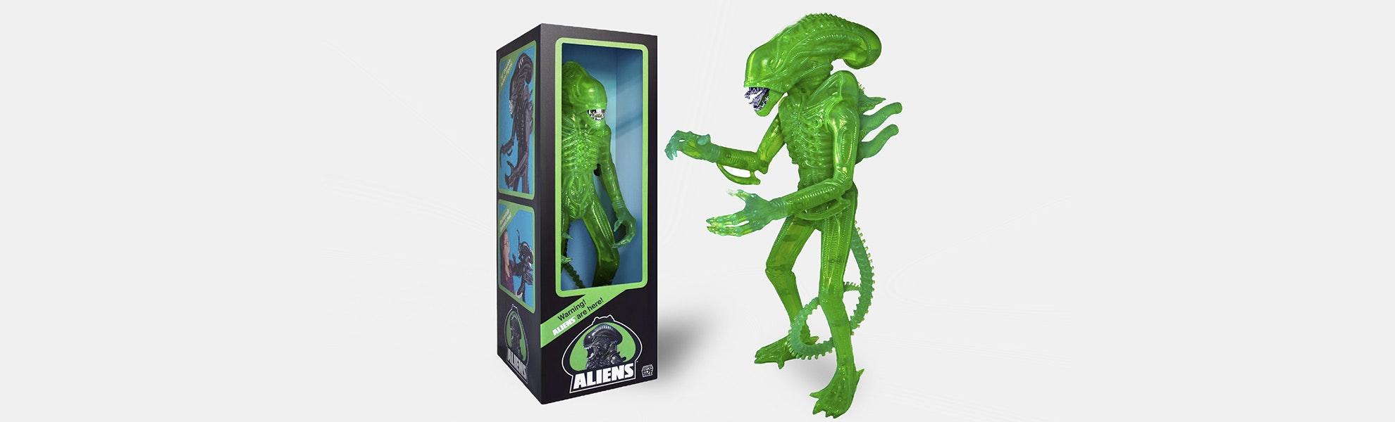 Super7 Aliens Warrior 18-Inch Classic Figure (1986)