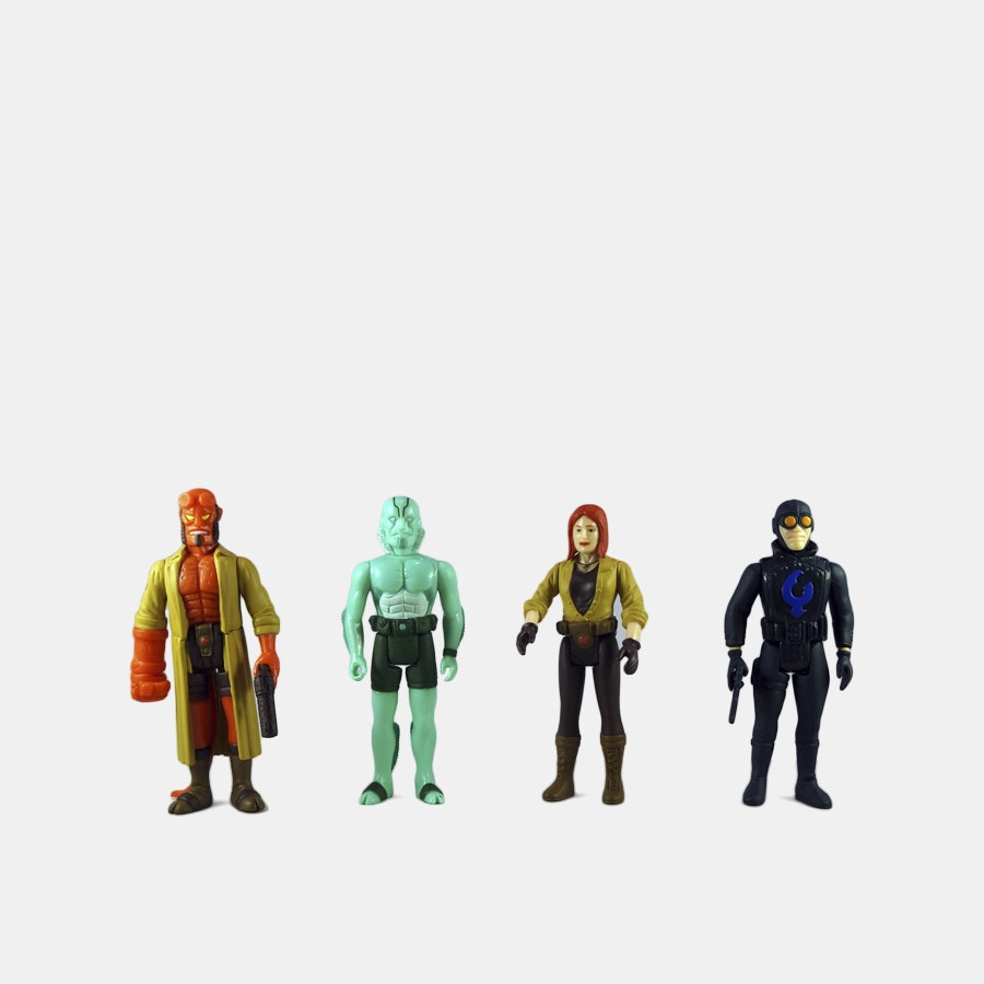 Super7 Hellboy ReAction Figures Bundle (4-Pack)