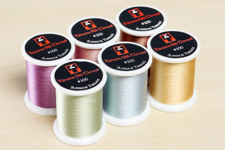 Superior Threads Kimono Silk Thread Sets