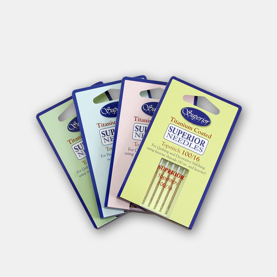 Superior Threads Titanium Needles (4-Pack)