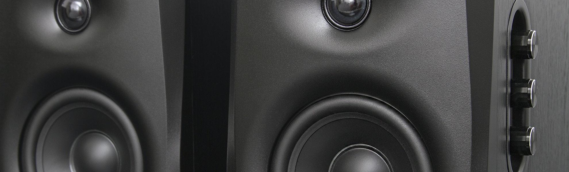 HiVi D1010/D1080 Mk IV Powered Speakers
