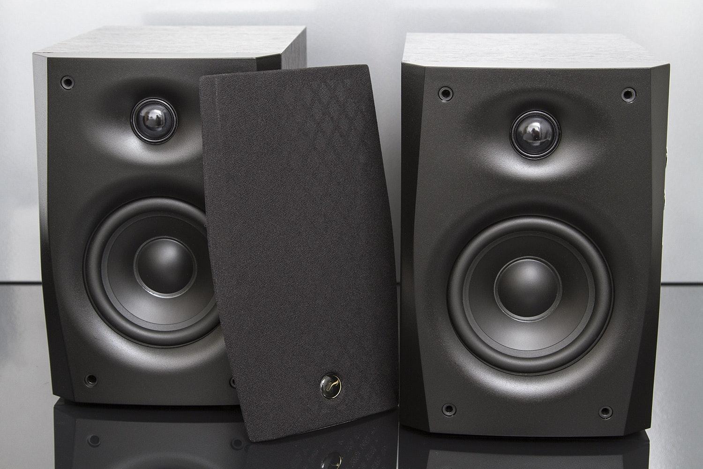 Swan D1010 Mk IV Powered Speakers