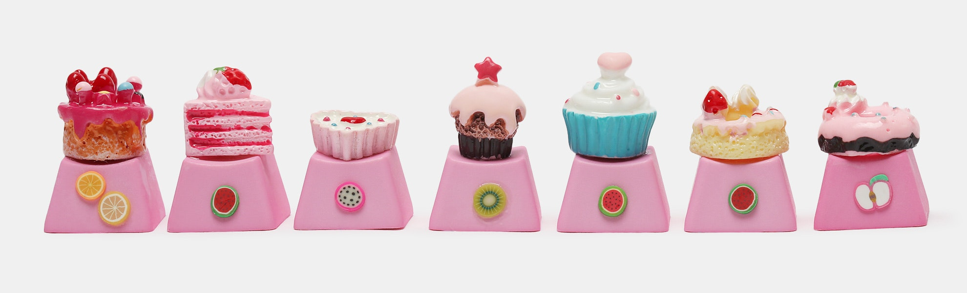 Sweet Tooth Novelty Keycaps (3-Pack)