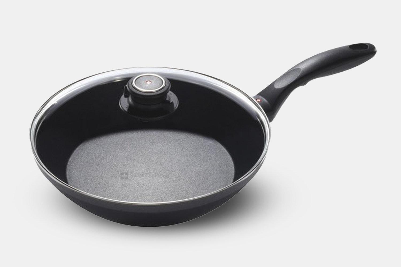"""9.5"""" Edge Stir Fry Pan w/ lid (+ $49)"""