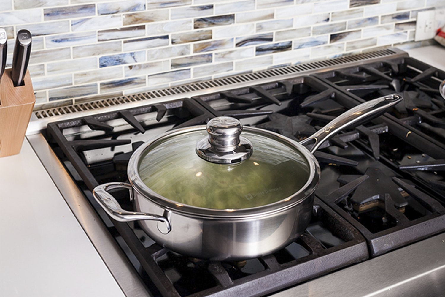 Swiss Diamond Premium Clad Sauté Pans With Lids