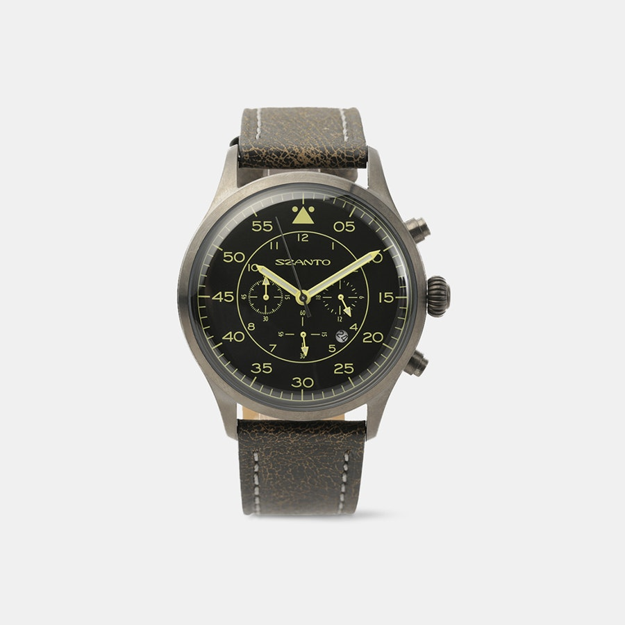 Szanto 2600 Pilot Series Quartz Watch