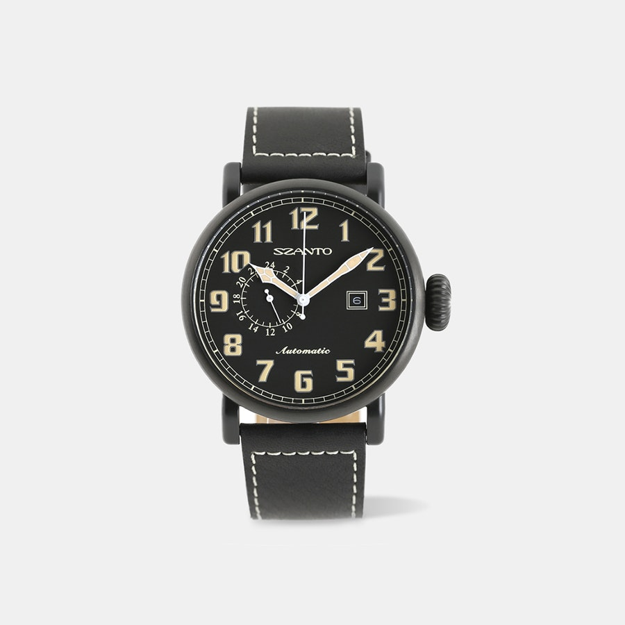 Szanto 6100 Series Aviator Automatic Watch