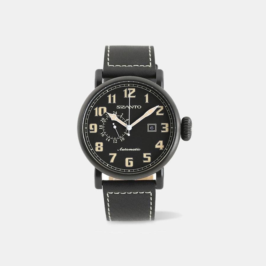 Szanto 6100 Series Aviator Automatic Watch