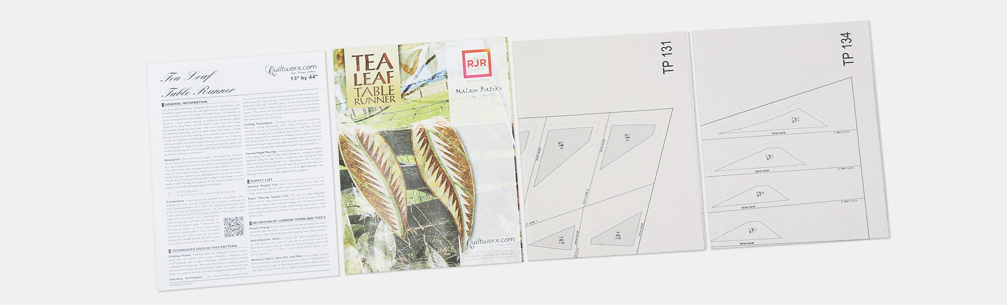 Table Top Pattern Bundle (2-Pack)
