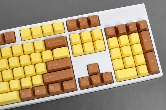 Tai-Hao 2-Tone ABS Doubleshot Keycap Set