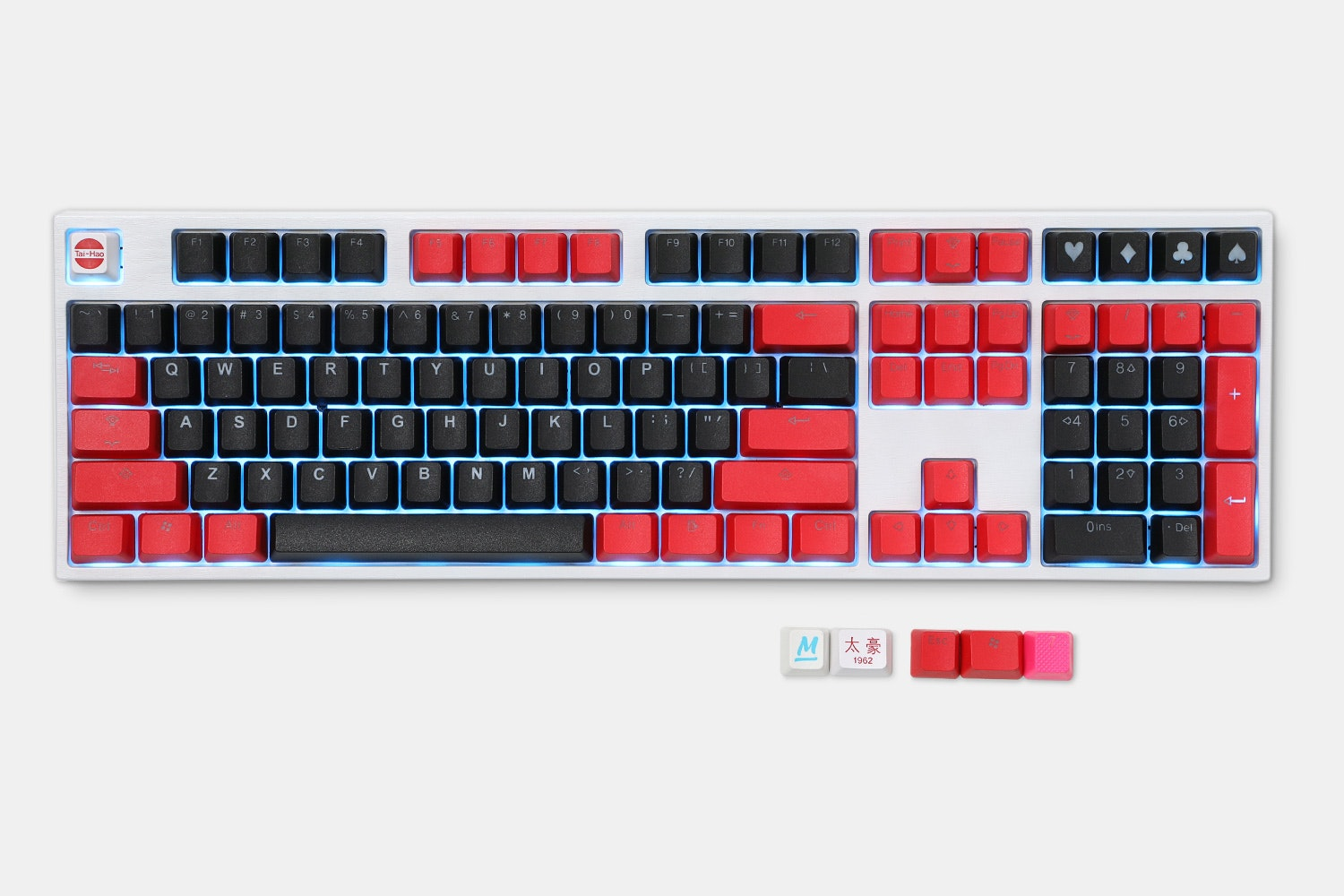 PBT - Black/Red