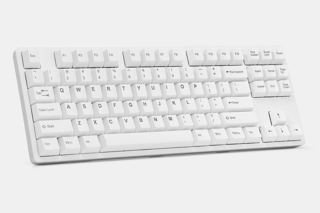Tai-Hao Cubic ABS BoW/WoB Keycap Set