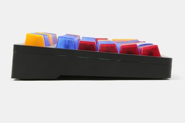 Tai-Hao Cubic Colored Translucent Keycap Set