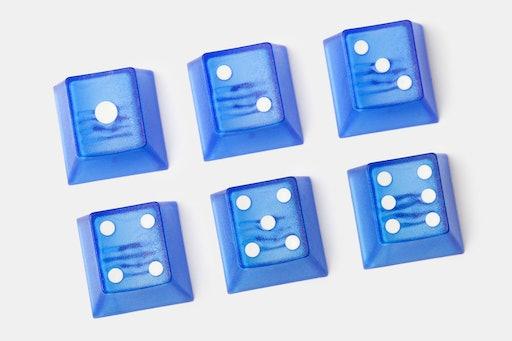 Tai-Hao Dice Novelty Keycaps