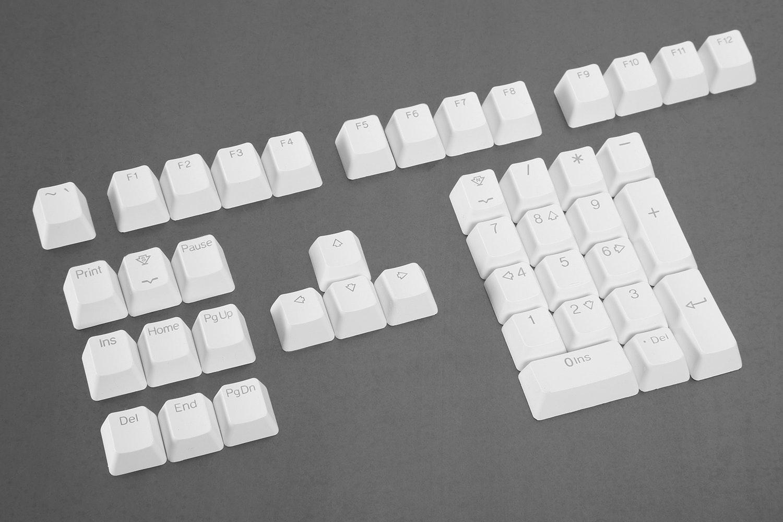 Tai-Hao Double Shot ABS Shine Through Keycap Set