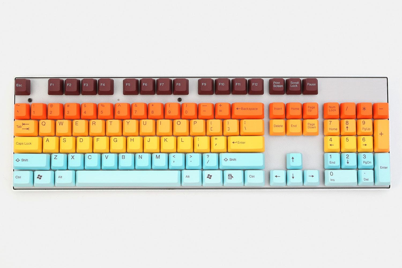Tai-Hao Hawaii PBT Doubleshot Keycap Set