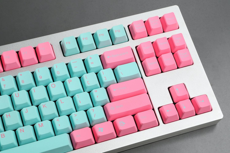 Tai-Hao Miami PBT Doubleshot Keycap Set