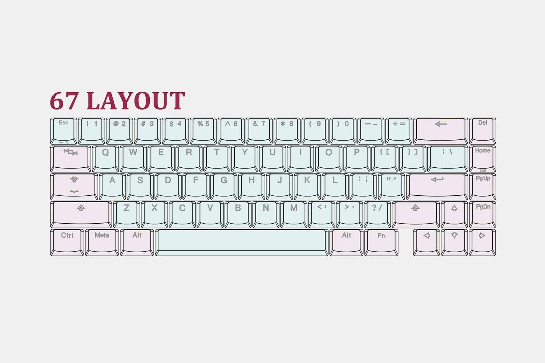 Tai-Hao Paradise Backlit Keycap Set