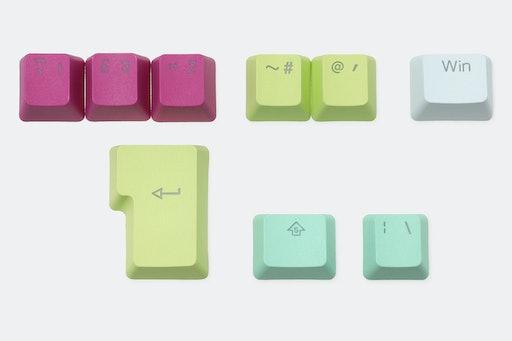 Tai-Hao Rainbow Sherbet PBT Backlit Keycaps