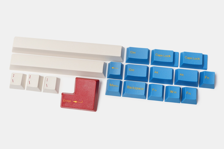 Tai-Hao Sin City Cubic Keycap Set (112-Keys)