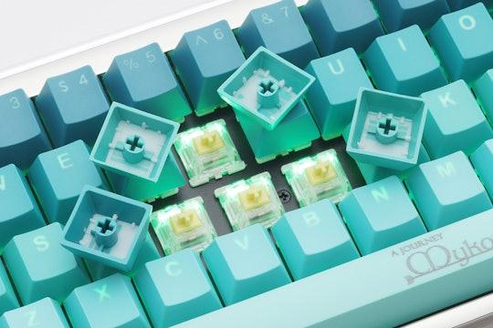 Tai-Hao PBT Doubleshot Cubic Keycap Set