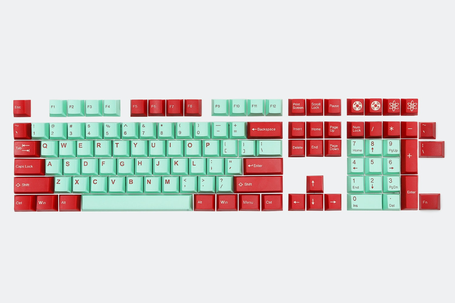 Red/Mint