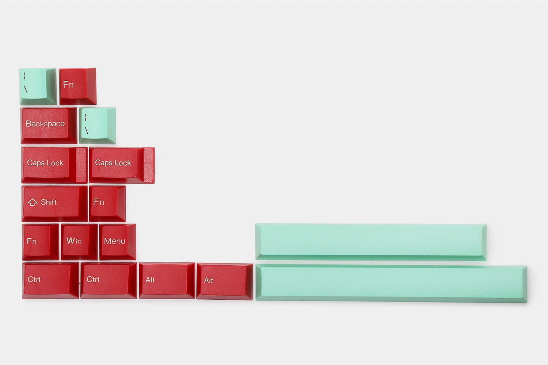 17-key kit – red/mint (+ $20)