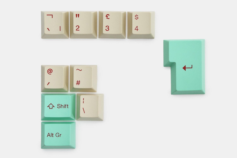 10-key ISO kit – mint/beige (+ $12)